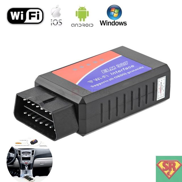 ELM327 Wi-Fi OBD2 Scanner Wireless Car Diagnostic Scaning Tool