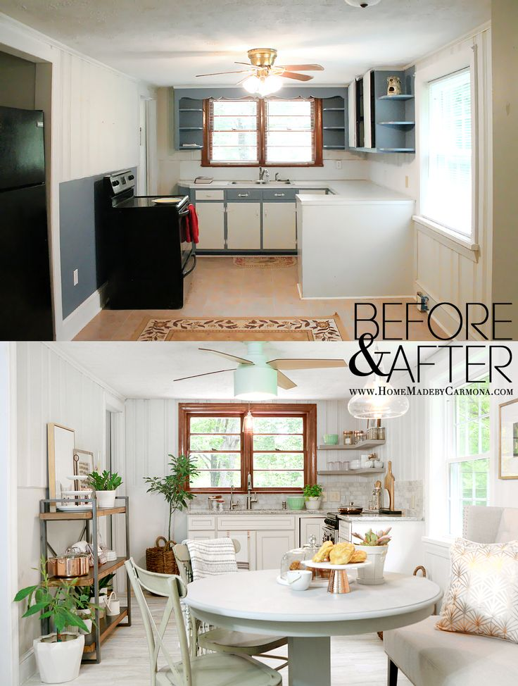 Contemporary Cottage Kitchen Makeover
