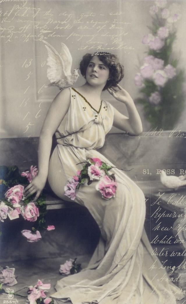 **FREE ViNTaGE DiGiTaL STaMPS**: Vintage Printable - The Lovely Muse || #free #prints #vintage