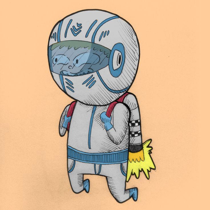 pequeño astronauta