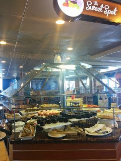 Dining aboard the Carnival Fantasy