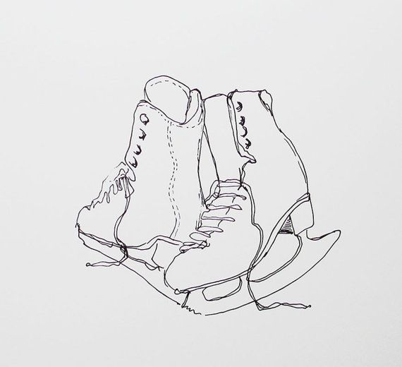 Line Drawing Figure : Best images about figure skating on pinterest ice