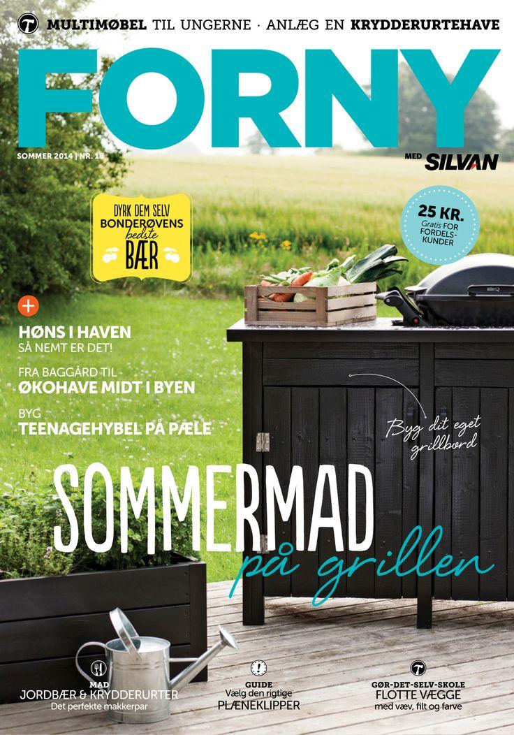 FORNY med Silvan, magasin nummer 18, sommer 2014
