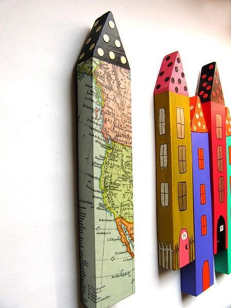 Handmade Gifts Ideas : Original Mixed Media - handmade house for Sale in quirky Irish village. $15.00, ...  https://diypick.com/diy-gifts/handmade-gifts-ideas-original-mixed-media-handmade-house-for-sale-in-quirky-irish-village-15-00/