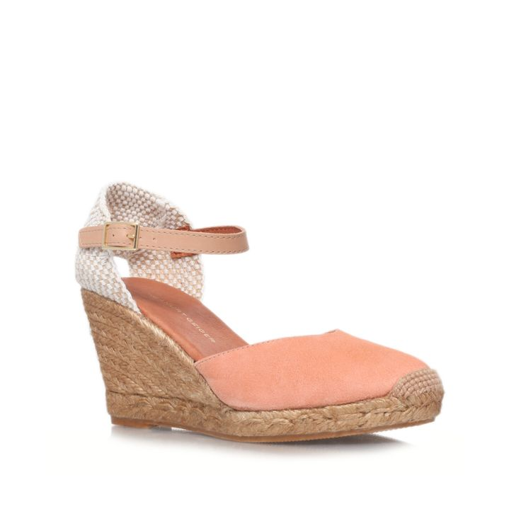 monty beige high heel wedges from KG Kurt Geiger