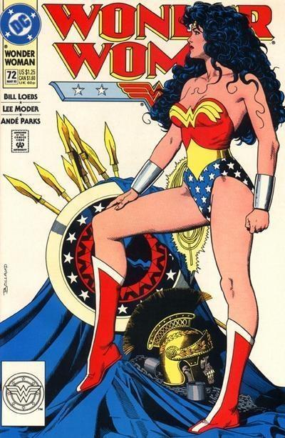 Wonder Woman #72 - Comic Book Cover