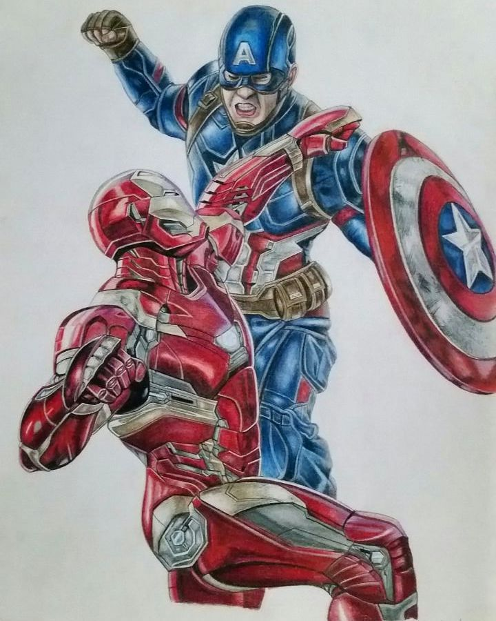 The War Was In Color Captain America