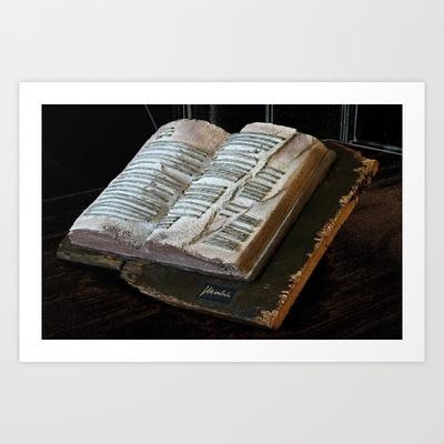 libro d'artista Art Print by Francesco Mestria - $12.48