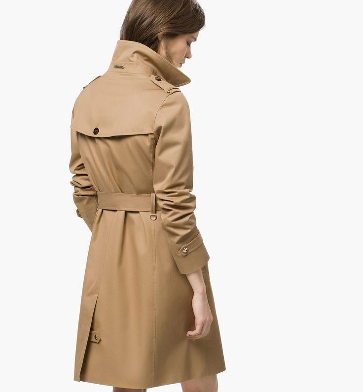 Long raincoat - Massimo Dutti