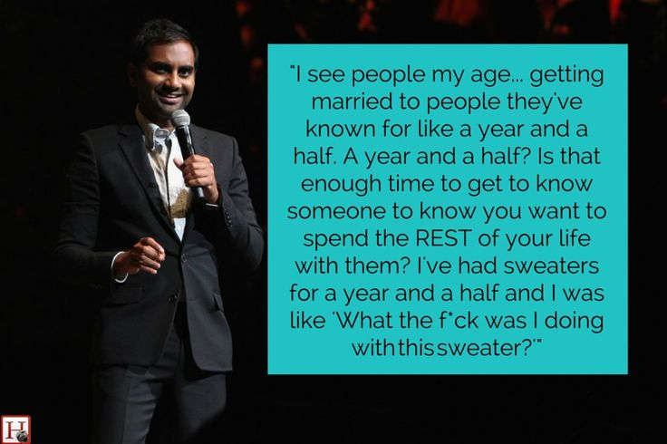 "Aziz Ansari's stand-up is consistently on point.   Whether he's explaining the insanity of marriage, describing Cold Stone Creamery as the ""epitome of American excess"" or giving chickenpox"