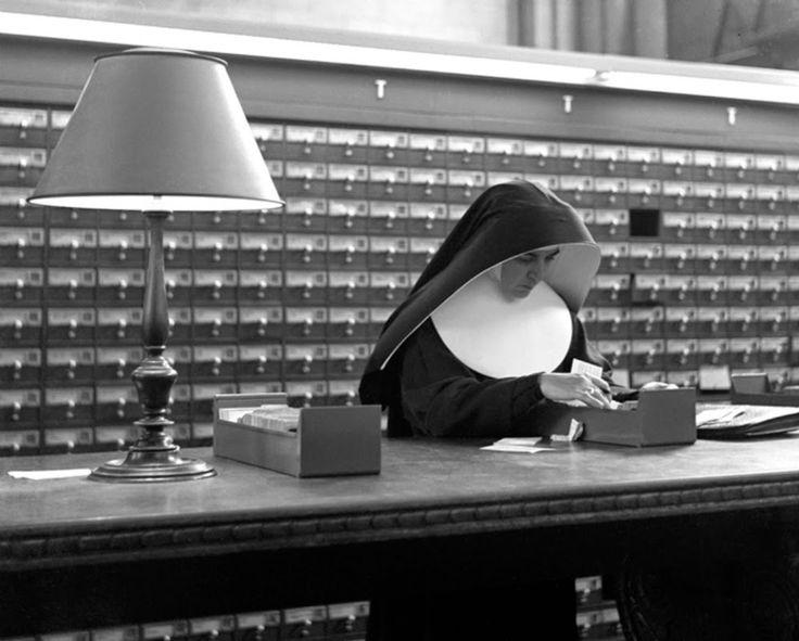 Nun, 1944 by Fred Stein
