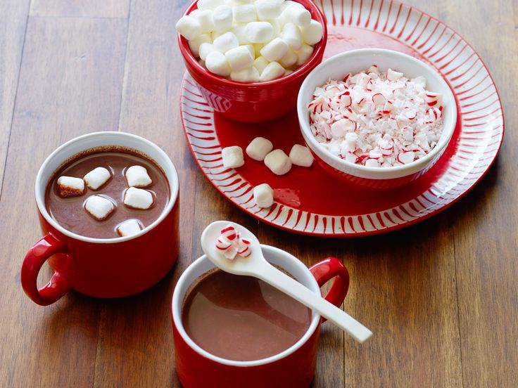 Slow-Cooker Peppermint Hot Chocolate Recipe : Food Network Kitchen : Food Network - FoodNetwork.com