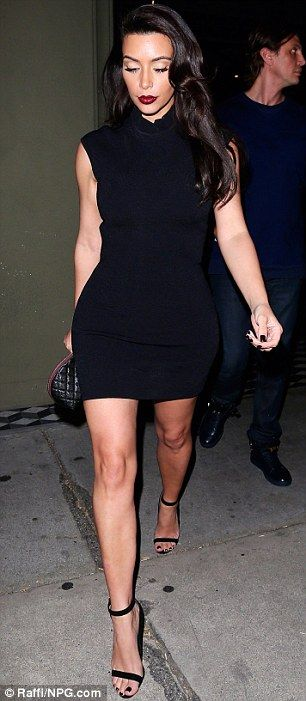 Everything alright, Kim Kardashian? The Kardashian sister Kim Kardashian looked bleary-eyed after her night out partying, followed by a late night dinner at Craig's in West Hollywood