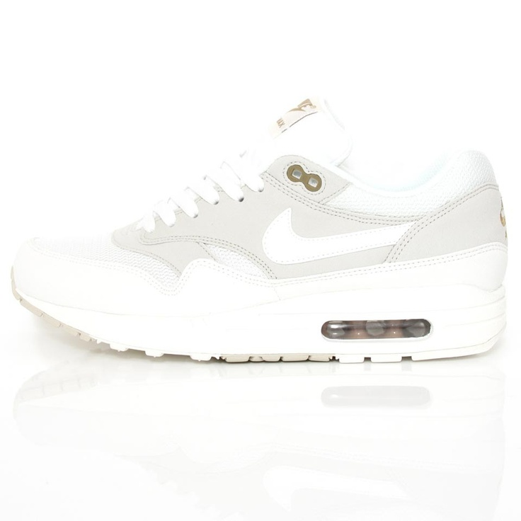 Nike Air Max 1 Shoes - Light Bone/Summit White
