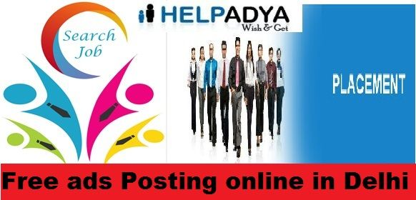 Help Adya a Premium Free ads Posting online in Delhi Looking for free ads posting online in Delhi, then you came at the right place.Classifiedsites are best way of getting huge traffic via free ads. With thehelpofclassifiedsites you can promote your newadvertisements easily.HelpAdyais a platform where you canPost Free and PaidClassifiedAdsin wide range of categories. To know more abouttopclassifiedwebsiteservices visitwww.helpadya.comor call at +91-8527198118