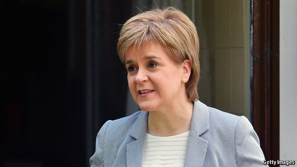 Scotland votes to stay in the EU—but is dragged out by England   The Economist