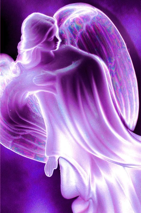 majesticAngels Art, God, Fairies, Dark Places, Purple Passion, Angels Among Us, Angels Wings, Purple Glasses, Guardian Angels