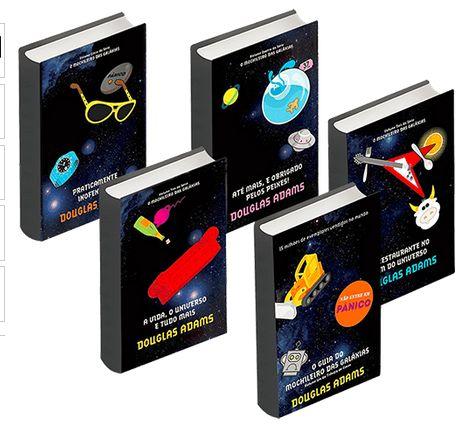 Coleção O Guia do Mochileiro das Galáxias - Edição Econômica (5 Volumes) << R$ 1990 >>