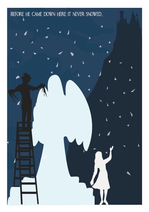 Edward Scissorhands - Ice Dance artwork by Meet Me In Shermer