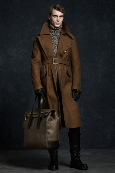 From the Belstaff F/W 12/13 collection. First collection by Martin Cooper…