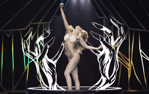 An Art History Guide To Lady Gaga's 'Applause' Music Video