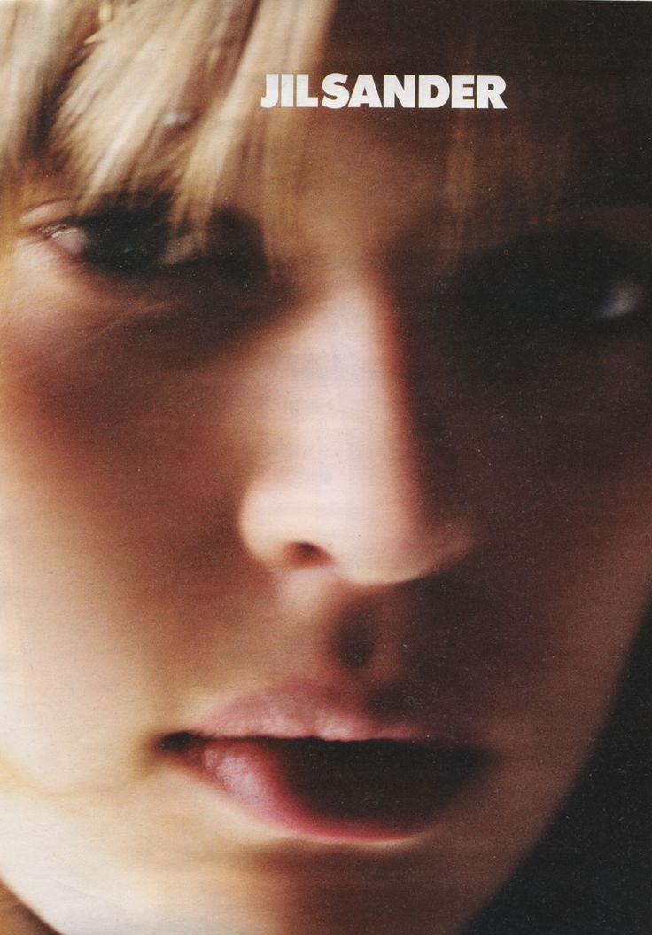 Campaign: Jil Sander  Season: Fall 2003  Photographer: David Sims  Model(s): Elise Crombez