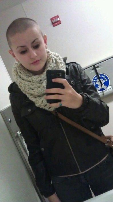 43 Best Baldspiration Images On Pinterest  Bald Girl -8206