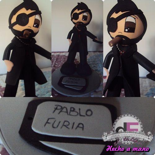 Fofucho Pablo Furia. ©Érika DecoEventos