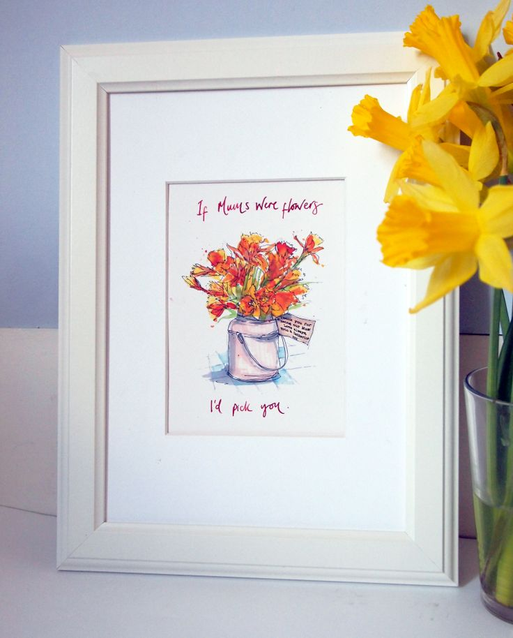 Personalised Mothers Day 2014 Print -available now at Homemade House www.homemadehouse.co.uk