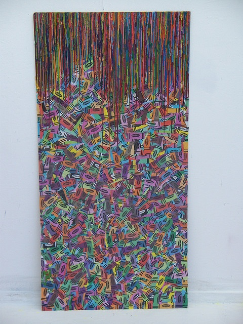 Melted Crayons and Wrappers