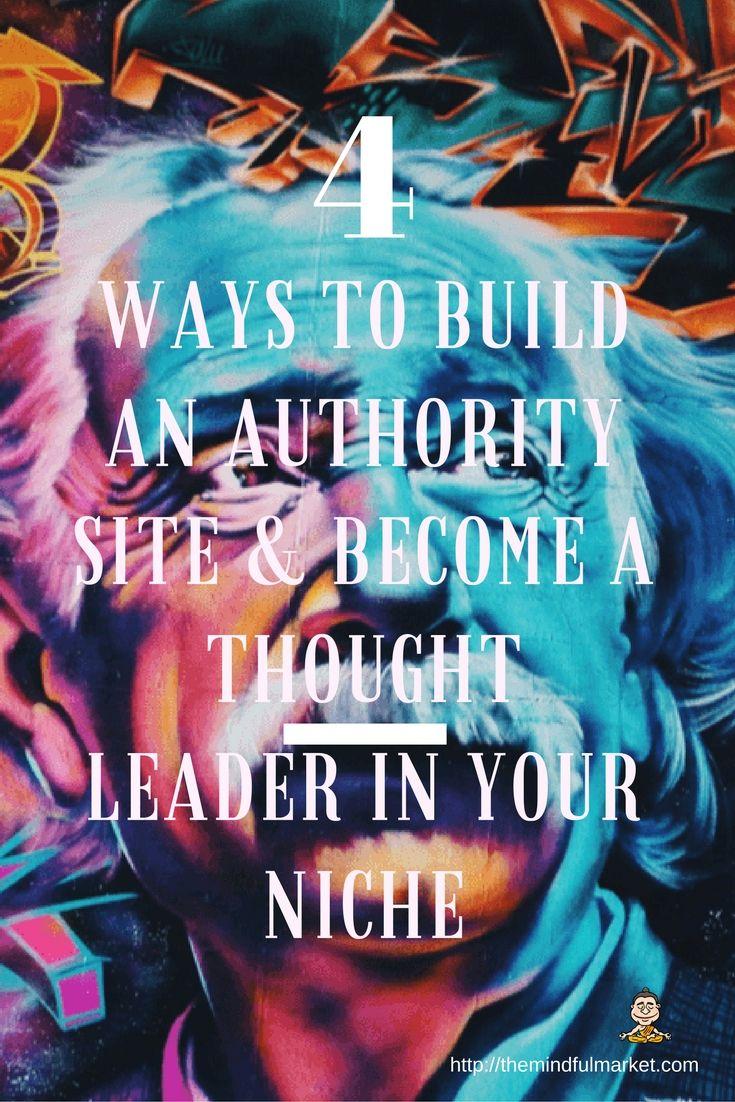 4 Easy Authority Site Ideas For Enlightened Entrepreneurs & Online Agencies