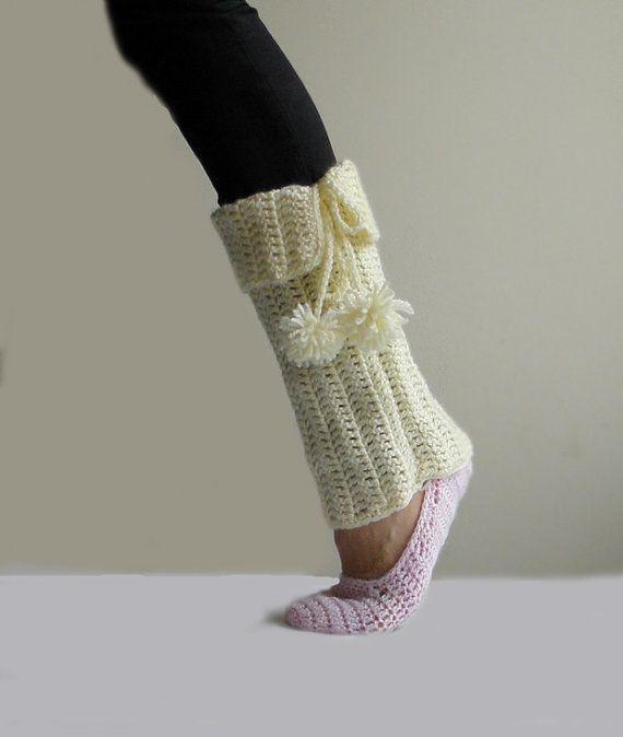 134 Best Knitted Leg Warmers Images On Pinterest Crochet Leg
