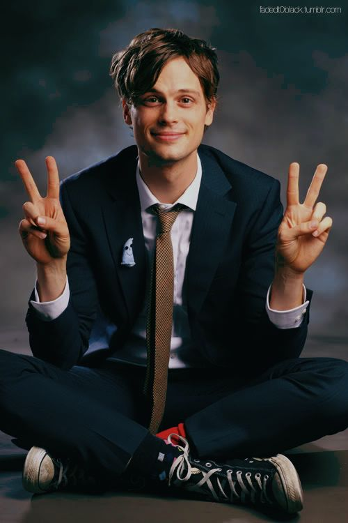 In my complex life, I'm so grateful to take a break in the comic genius of Matthew Gray Gubler.