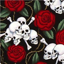 "Alexander Henry - Kollektion ""Nicole´s Prints"" - Skulls"