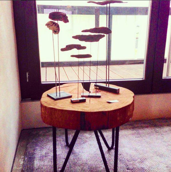 original coffee or night tables Vladan Běhal Design in our showroom in Karlín, Prague