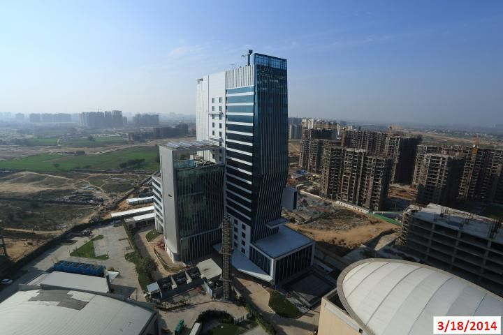Top View - Floreal Towers