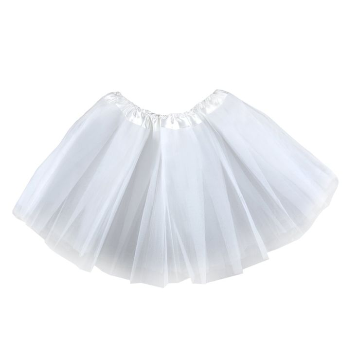 """Girls Tutu Dress, Dance Ballet Tutu Skirts, Various Colors. Cute tutu skirt, pick from many colors. 3 layers of fluffy polyester tulle. Waist stretches from 16-28"""" around and is 11"""" in length. Perfect for dance, ballet, costumes, dress up, jazz and tap. Polyester Tulle."""
