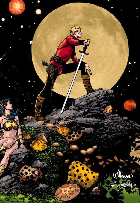 Al Willamson .....Flash Gordon Comic Art