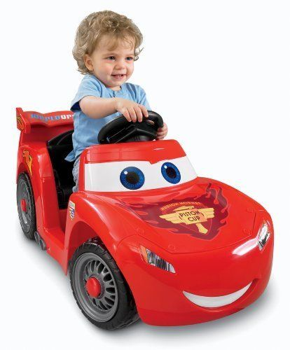 Single Push-Button Operation For Simple Stop & Go - Power Wheels Disney/Pixar Cars 2 Lil' Lightning McQueen (Hudson Hornet Piston Cup) by Fisher-Price. $171.20. Power Wheels Disney/Pixar Cars 2 Lil' Lightning McQueen (Hudson Hornet Piston Cup)A Lil' Lightning McQueen race car for the youngest of drivers. Features phrases plus cool racecar sounds. Drives 2 mph max. on hard surfaces and grass with single push-button operation for easy stop and go and wide door openings for easy...