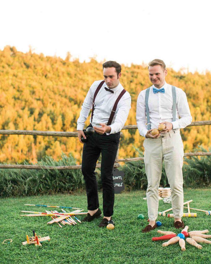 """Hochzeitsspiele """"Mann gegen Frau"""""""