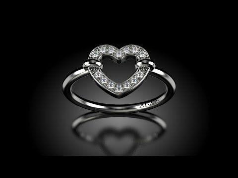 Inel de logodna din aur alb cu diamante Misha