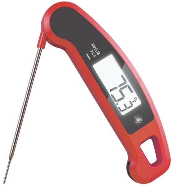 The Javelin is a professional food thermometer designed from the ground up to handle any task you can throw at it.