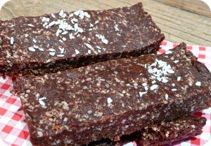 barre chocolat - coco Vegan - cru et sans gluten