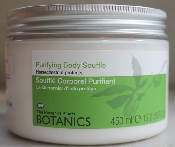 #Boots #Botanics Purifying #BodySouffle review, moisturizing, awesome smell, little goes long way, non sticky, absorbs well, long lasting effect