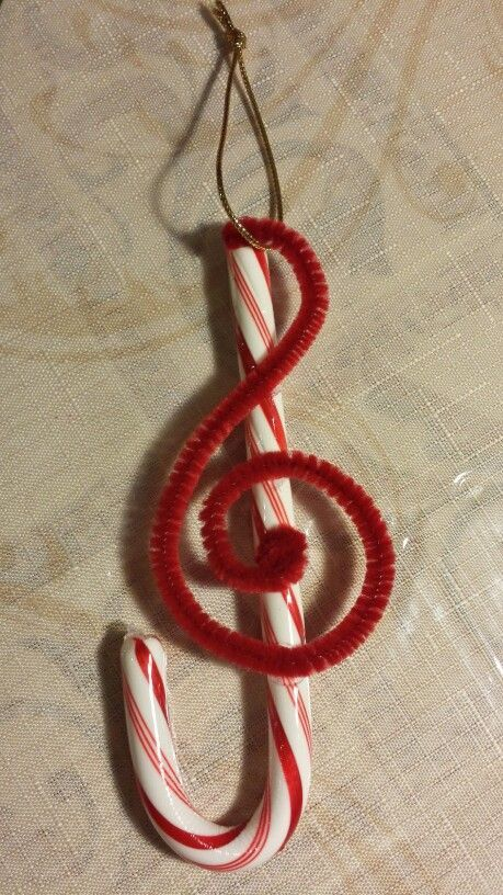 Best 25 treble clef ideas on pinterest treble clef art for Candy cane crafts for adults