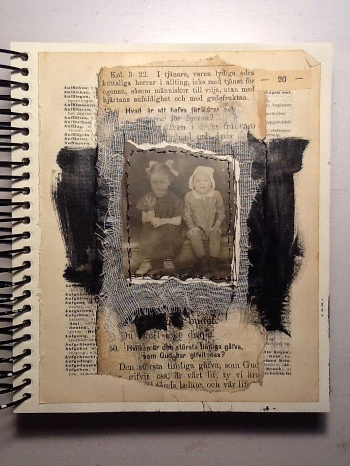 I´ve been working a lot with Collage Art lately. I´m currently working on pieces for my Craft Fair coming up in a week - I´ll show...