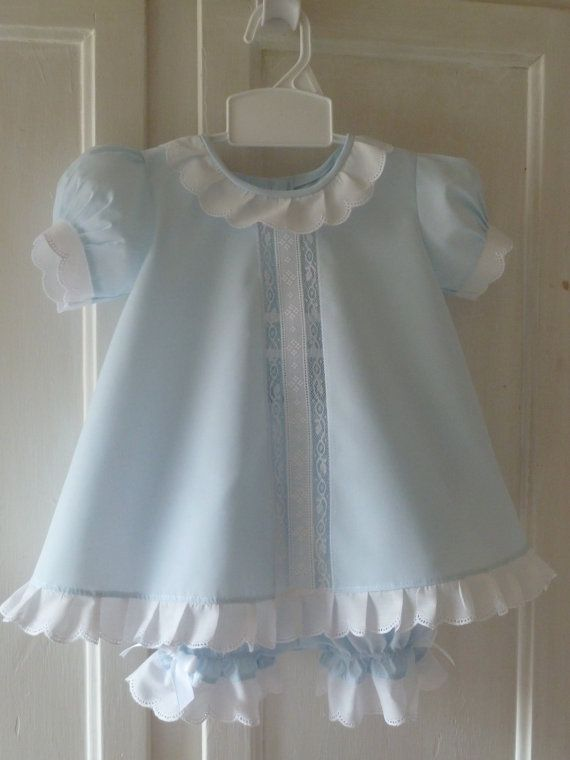 Baby Dress and Bloomers