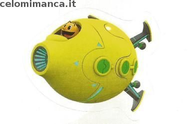 Pac-Man and the Ghostly Adventures: Fronte Figurina n. 202 -