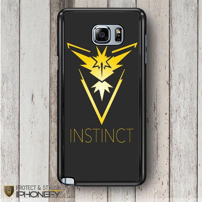 Pokemon Go Team Instinct Samsung Galaxy Note 4|5 Case|iPhonefy