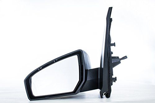 Left Driver Side Mirror for Nissan Sentra (2007 2008 2009 2010 2011 2012) Manual, Unpainted Non-Heated Oustide Rear View Replacement Door Mirror – Parts Link #: NI1320166